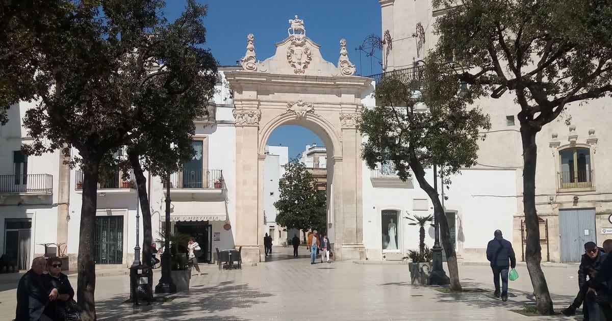 Piazza XX settembre Martina Franca