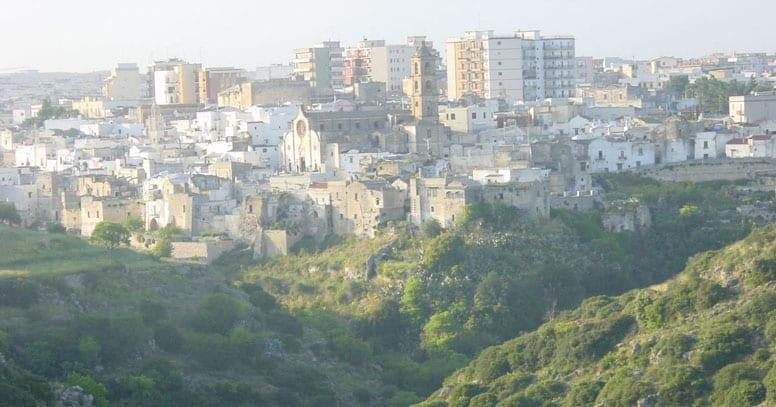 Laterza vista della città