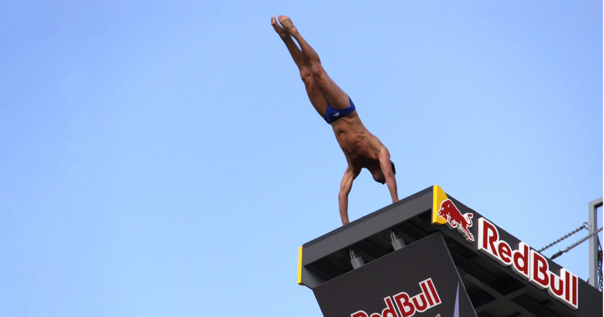 Tuffi Polignano a mare, Red Bull Cliff Diving