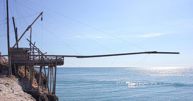 Trabucchi sul mare, Gargano