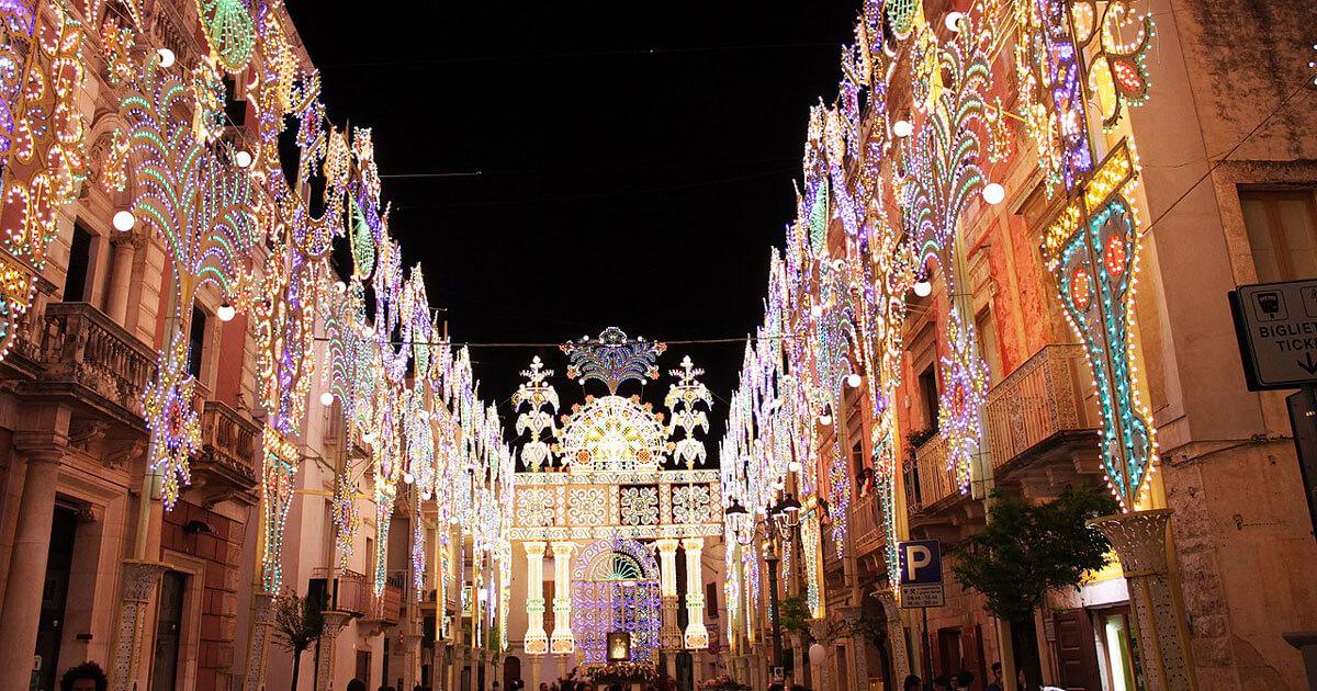 Luminarie in Puglia