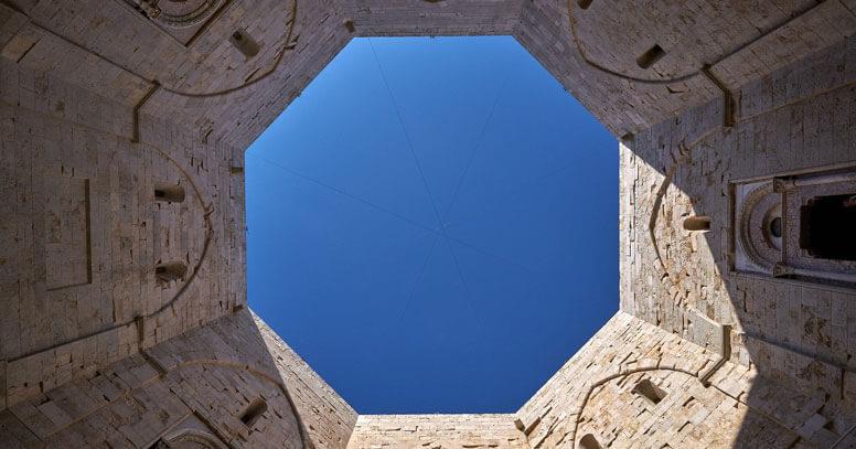 Interno Castel del Monte