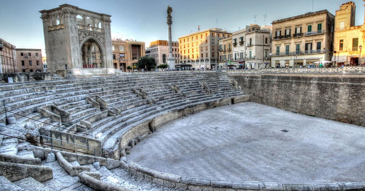 Anfiteatro a Lecce