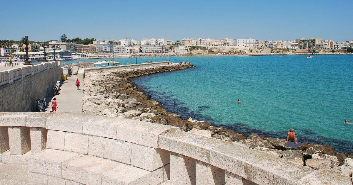 Vista mare di Otranto