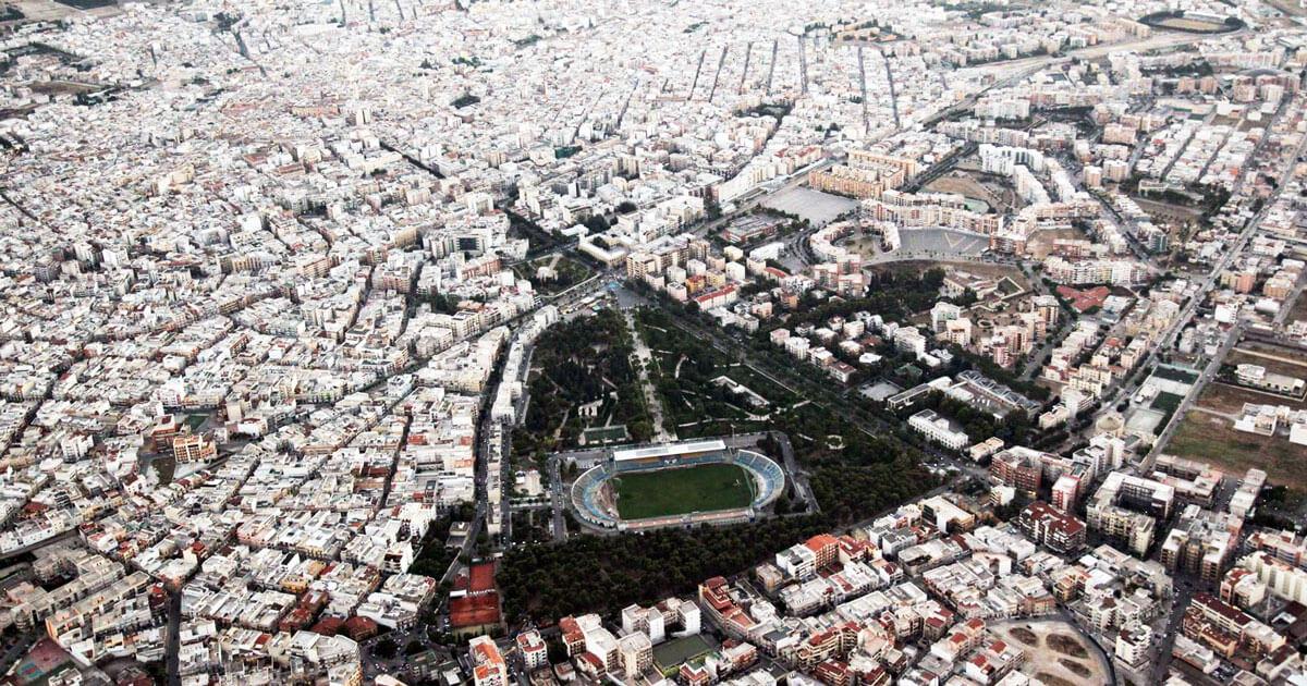 Vista panoramica di Andria