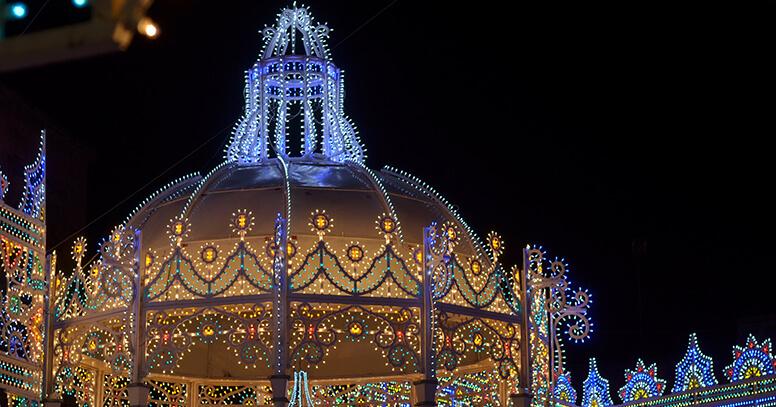 Luminarie festa patronale di Manduria
