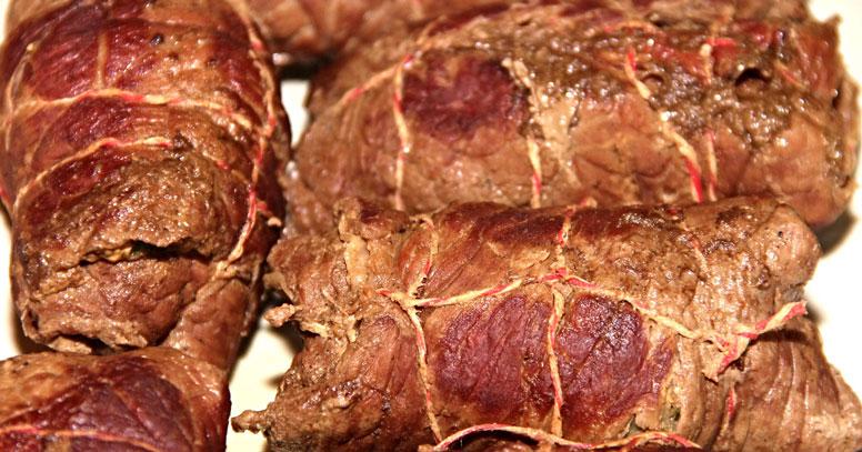 Brasciole di cavallo, tipico piatto di Santeramo in Colle