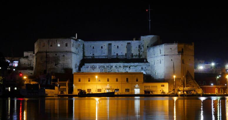 Castello Federiciano sul porto di Brindisi