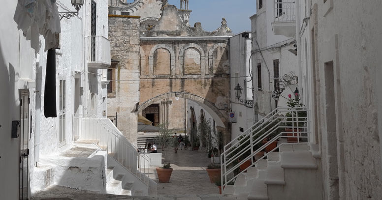 centro storico ostuni