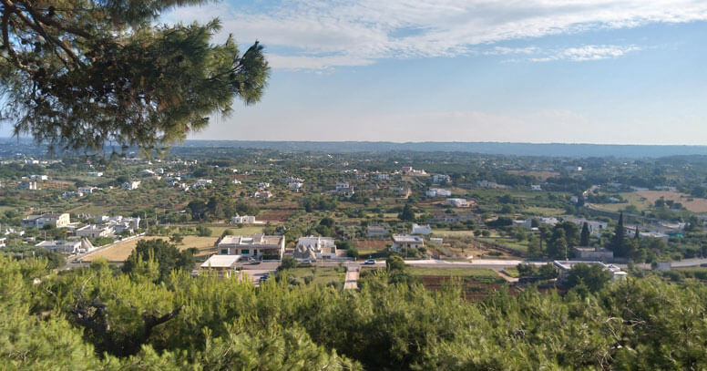 Valle d'Itria vista da Cisternino