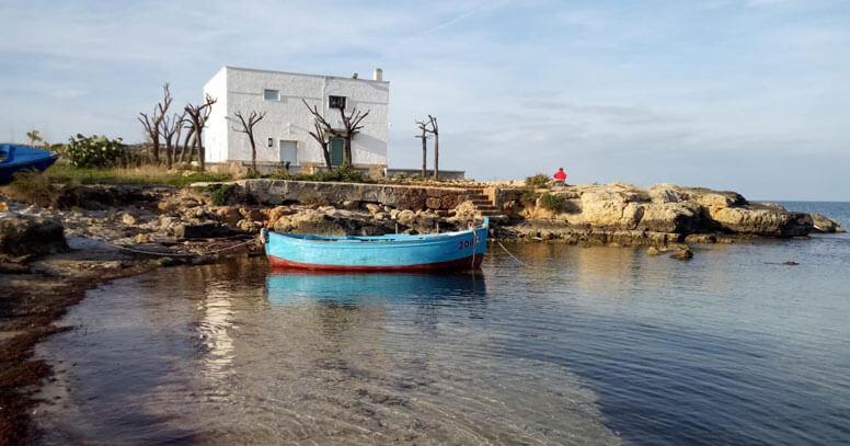 imbarcazione tipica savelletri
