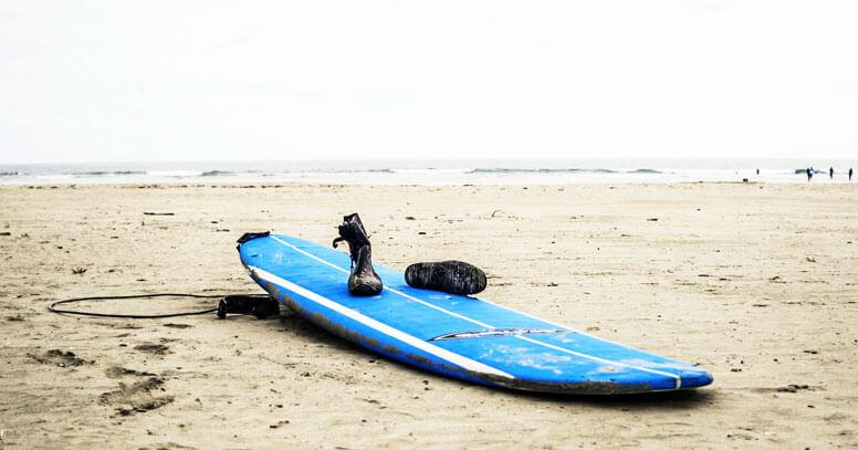 surf in puglia