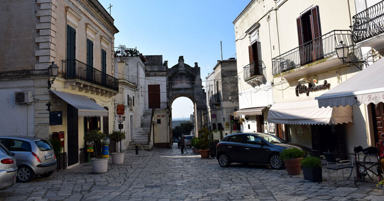 Oria centro storico