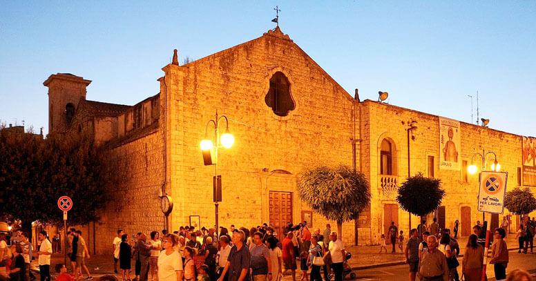 chiesa del carmine, Putignano