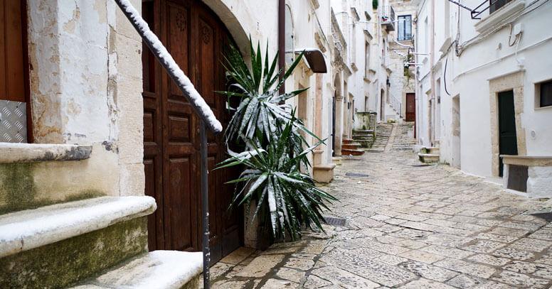 Putignano centro storico