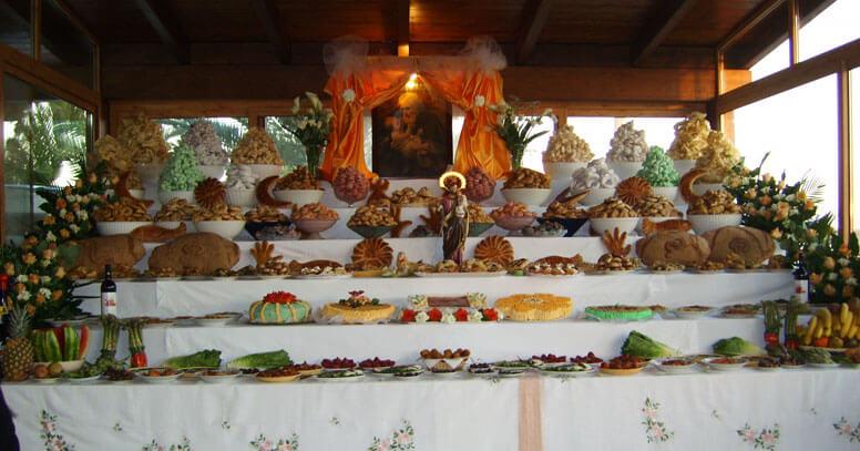 tavola di san giuseppe