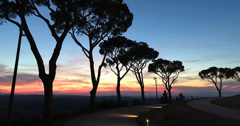 Castel del monte tramonto