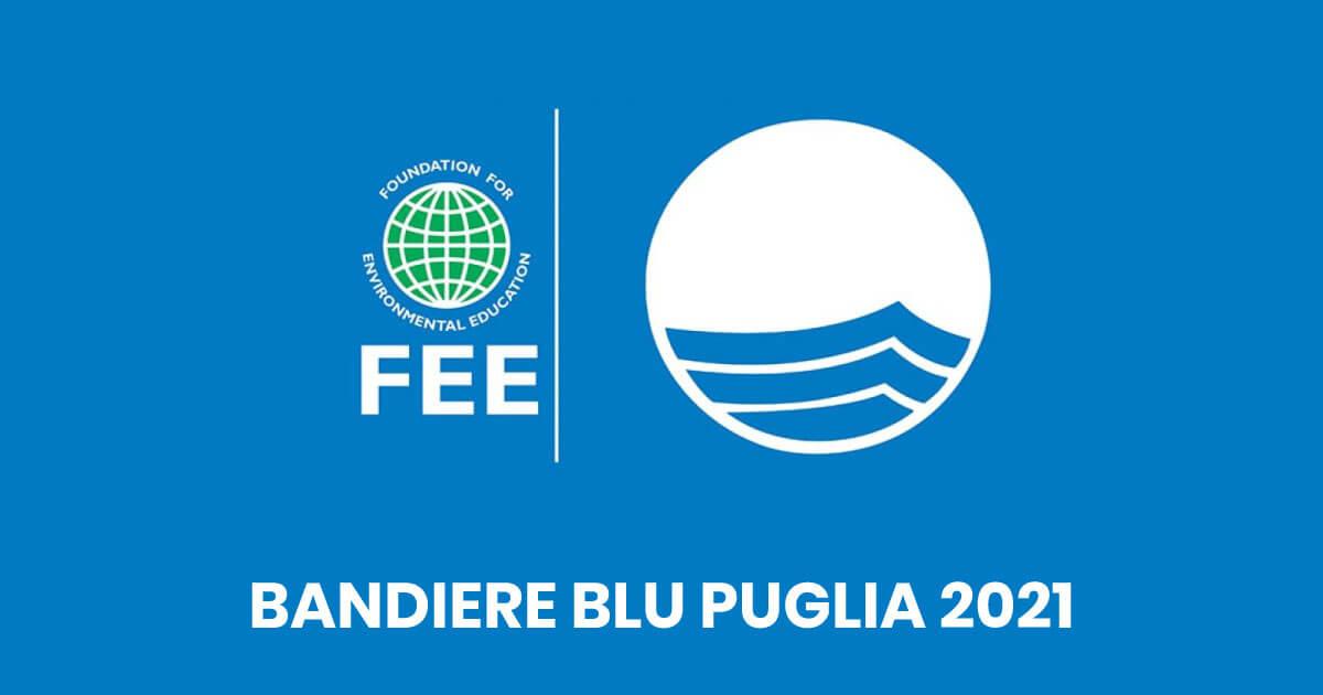 Bandiere blu puglia 2021